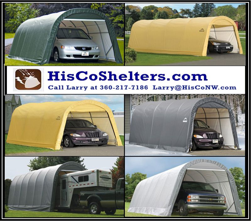 Round Style Roof Heavy Duty Fully Enclosed **Double