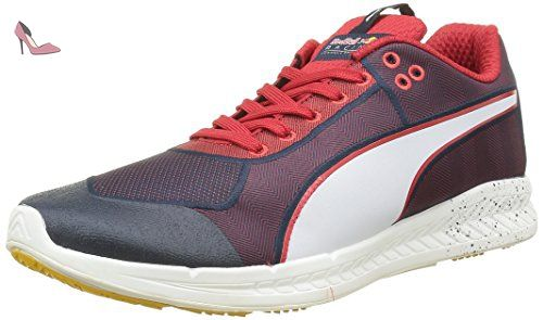 Flexracer SL, Sneakers Basses Mixte Adulte, Blanc White-Ultra Magenta 09, 37 EUPuma