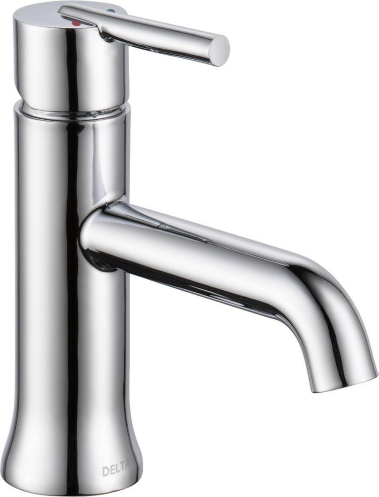 Trinsic Single Handle Lavatory Faucet Less Pop Up Chrome