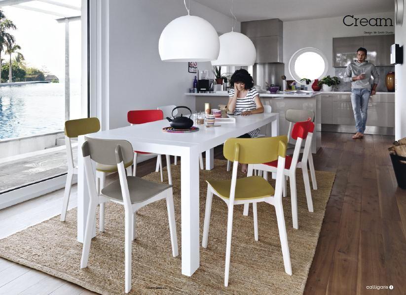 Sedie cream calligaris cucine sgabelli soggiorno