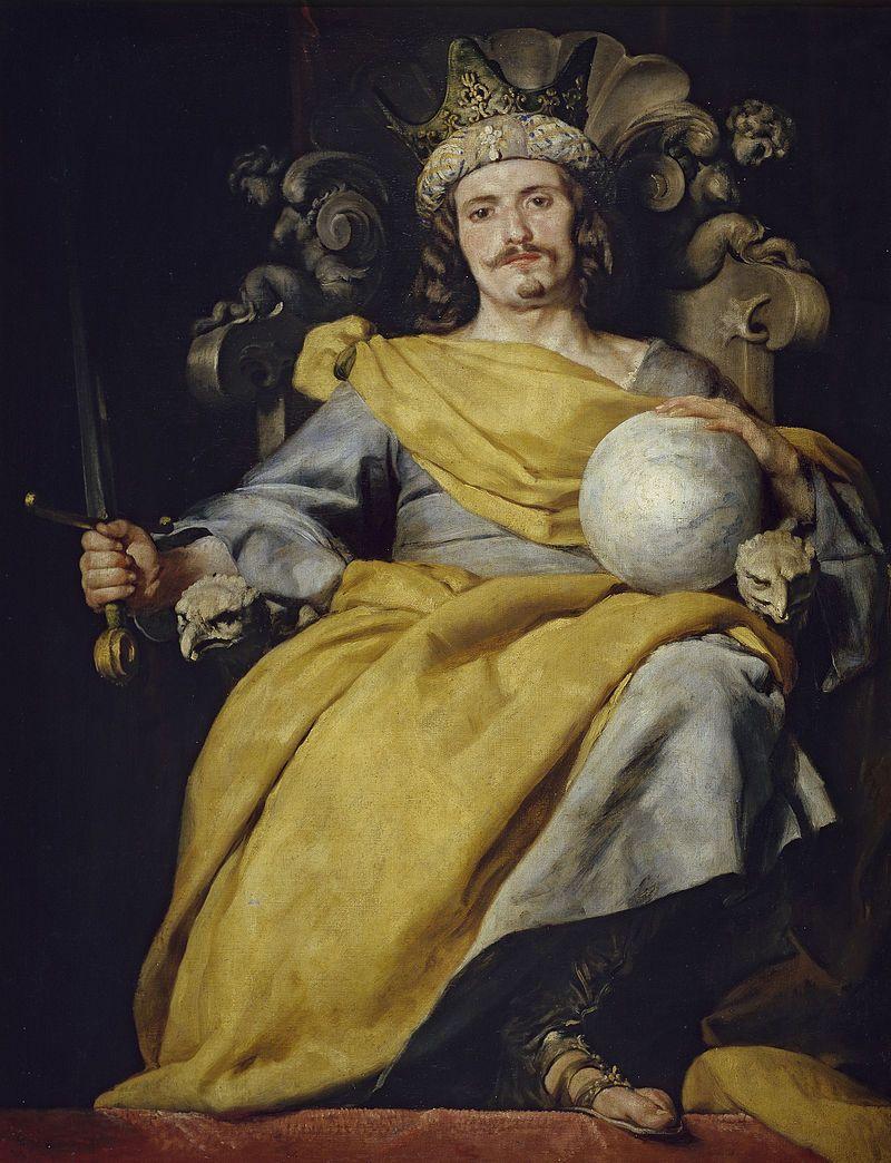 Rey de España, uno de los lienzos de Alonso Cano en el Museo del ...