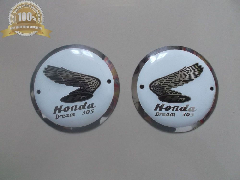 honda dream 305 c76 c77 c78 ca77 cb77 cl77 l r fuel tank emblem gas rh pinterest com Honda Dream Ca77 Parts Honda Dream Ca77 Parts
