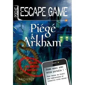 Escape Game Poche Piege A Arkham Livres Jeux En 2020 Telechargement Jeux De Logique Livre Ebook