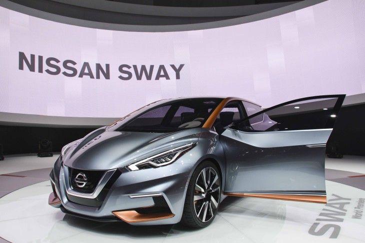 Le concept Sway de Nissan est une nouvelle étude de style, donnant un avant-goût de ce Nissan mettra sur le marché à l'avenir.