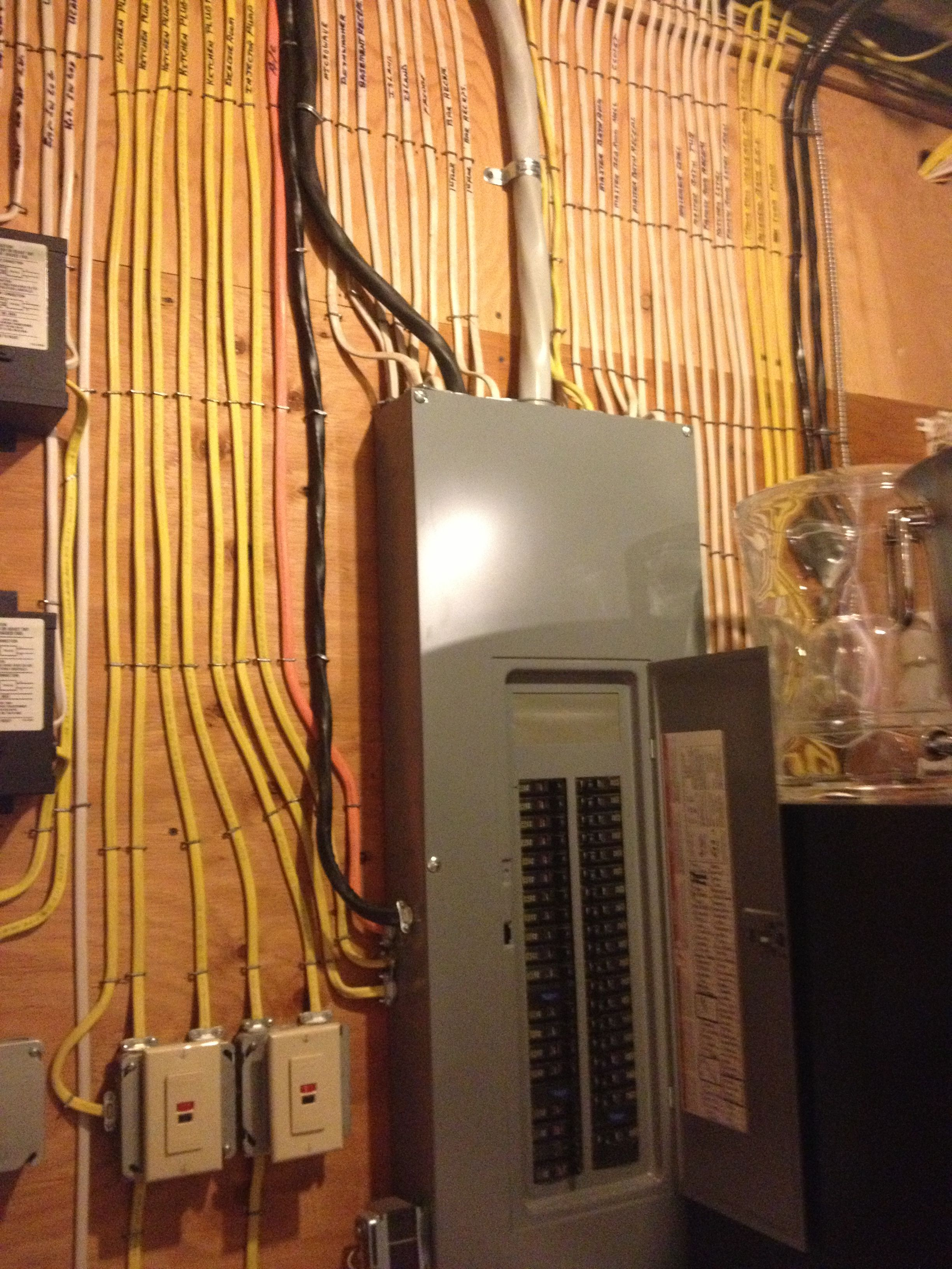 small resolution of i ve never seen an ocd electrician like this before but i love it realestate springlakehomes