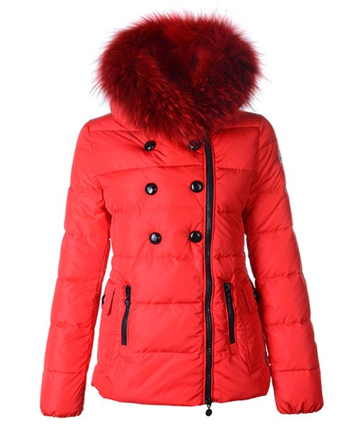 d2d7ef0e22a9 Moncler Herisson Fashion Womens Jacket Short Red! Only  239.9USD ...