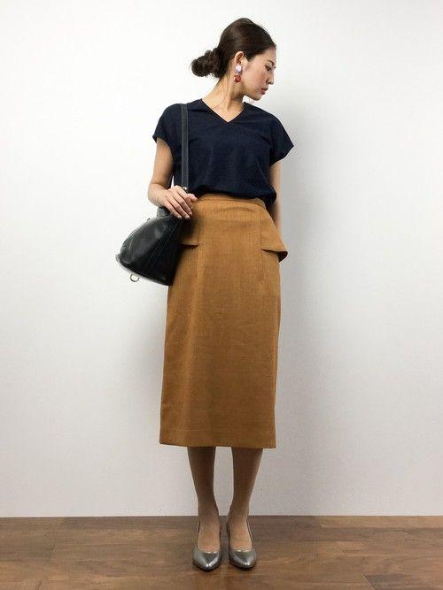 m.y(ZOZOTOWN) SHIPS for womenのTシャツ/カットソーを使ったコーディネート - WEAR