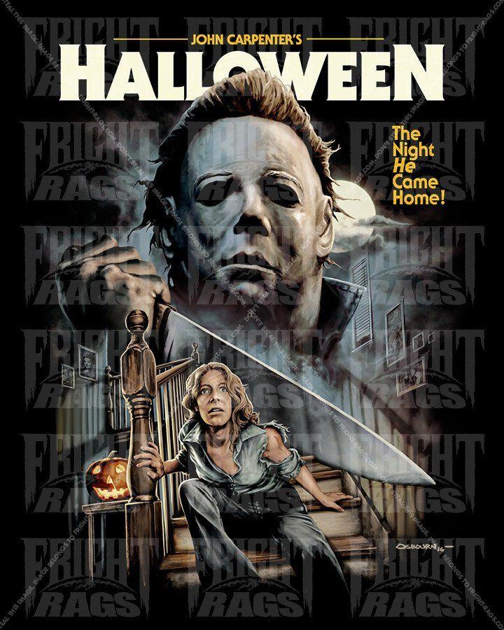 Justin Osbourn Halloween Art 2020 Halloween V1 | Horror movie art, Halloween movies, Horror movie