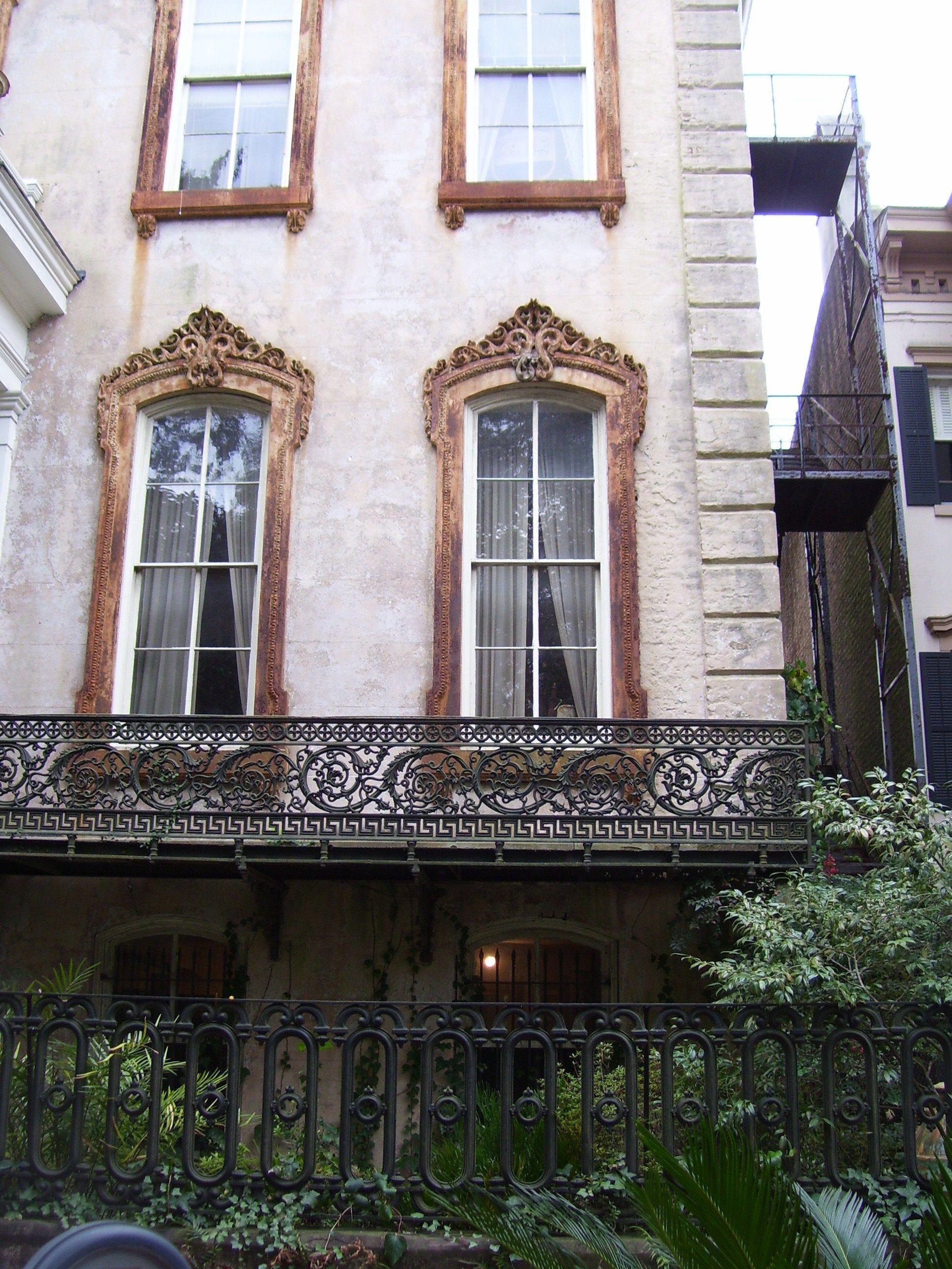 Balcony Fence Design: Cast Iron Balcony Railing & Fence, Savannah GA. Why Is
