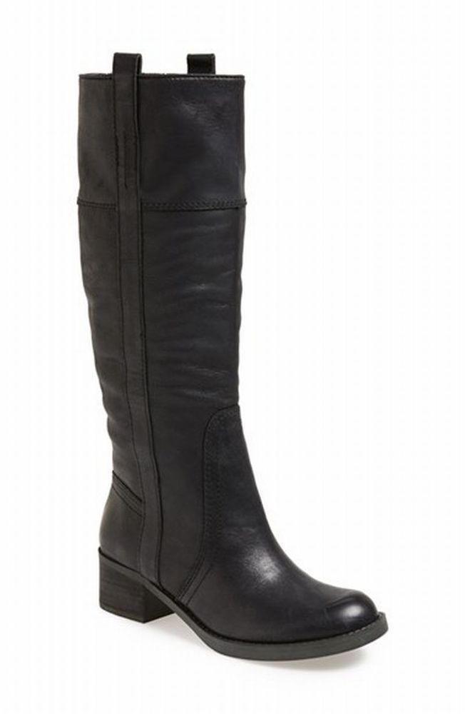 298ccd1405d Lucky Brand Hibiscus boots 7.5 M Black13 New  LuckyBrand  KneeHighBoots   Casual