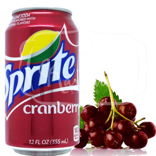 Refrigerante Sprite Cranberry Importado Dos Estados Unidos Cranberry Doces Importados Refrigerante
