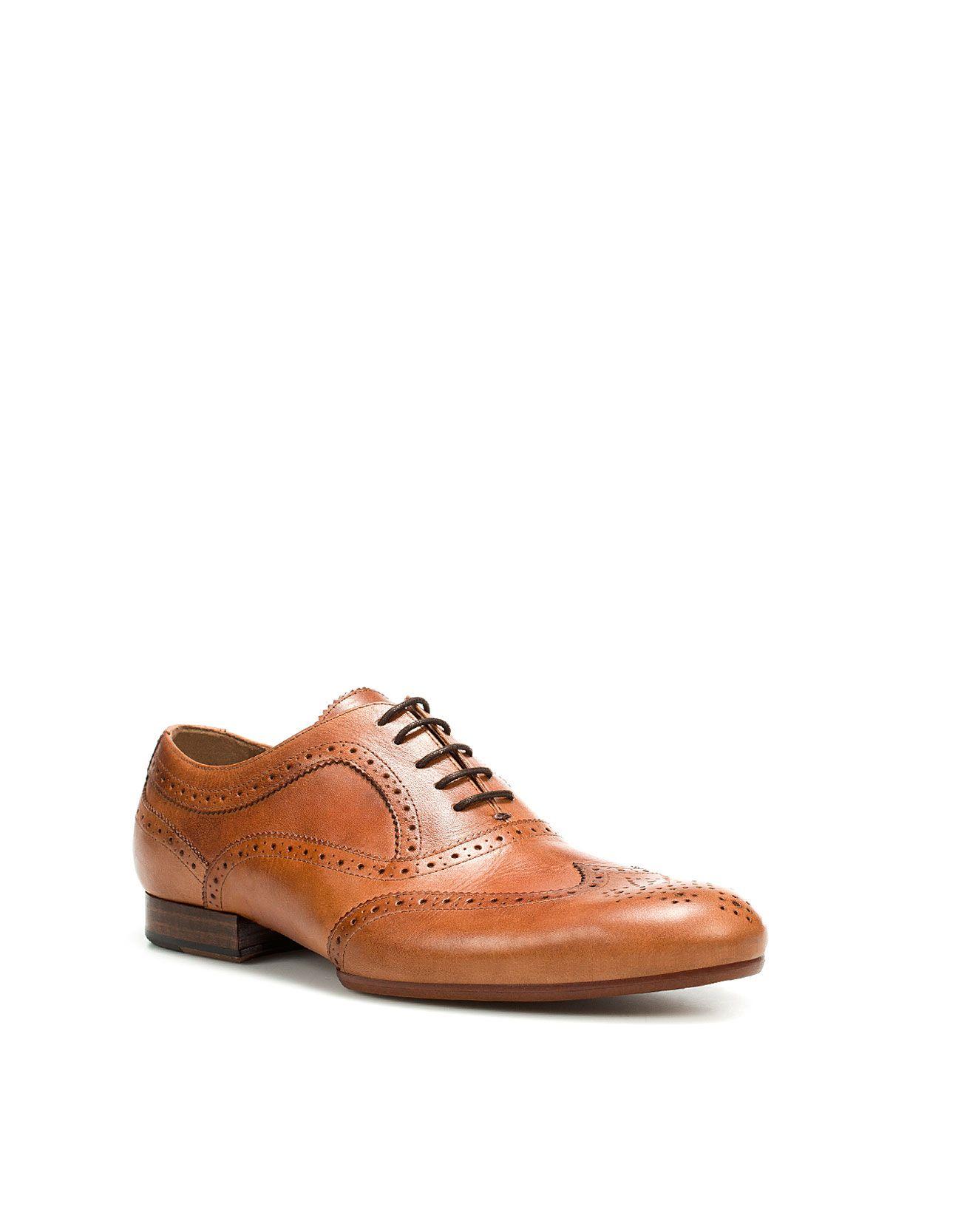 ebcd0e93c34 VINTAGE BROGUES - Shoes - Man - ZARA United States | je ne sais quoi ...