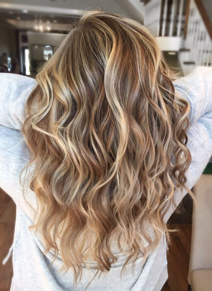 Balayage Lowlight Winter Hair Colour For Blondes Hair Styles Winter Hairstyles