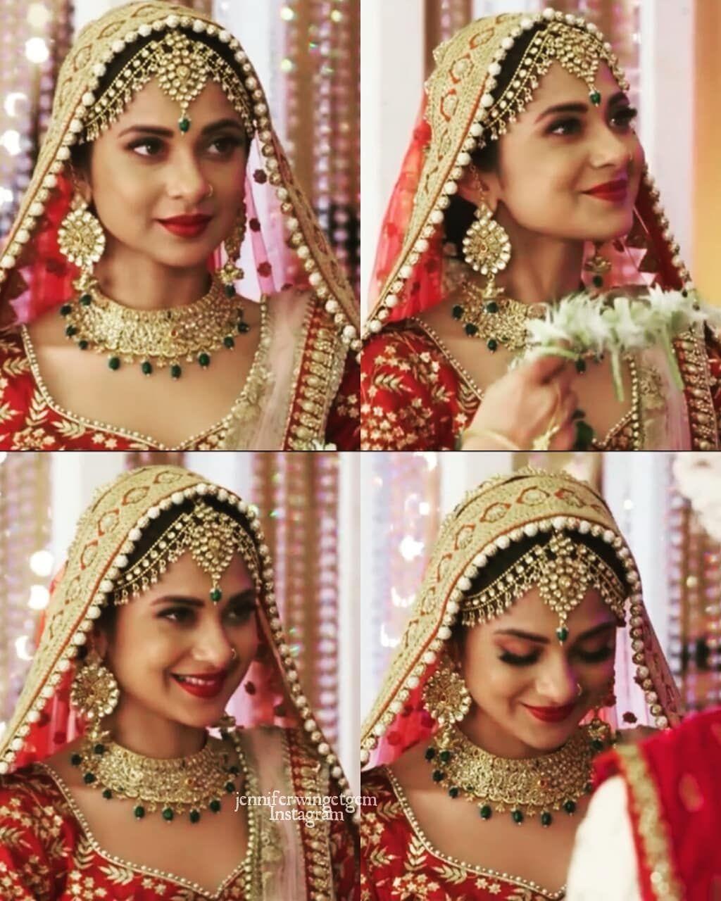 32 Likes 0 Comments Tanshi X Adiya Emiicandy On Instagram Elegant Jenniferwinget1 Harshad Chopda Jennifer Winget Indian Bridal Baby Charm Bracelet