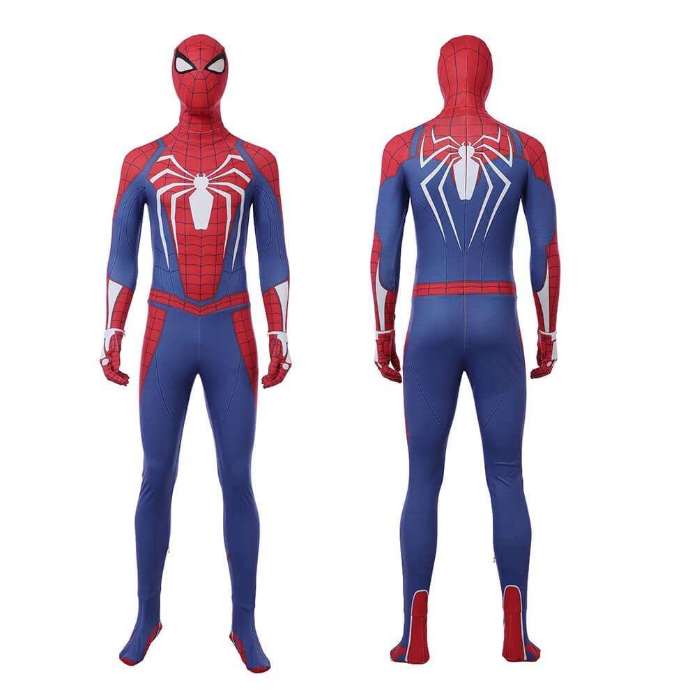 Marvel Spider Man Ps4 Costume Cosplay Jumpsuit For Men Jumpsuit Men Spiderman Kids Suits
