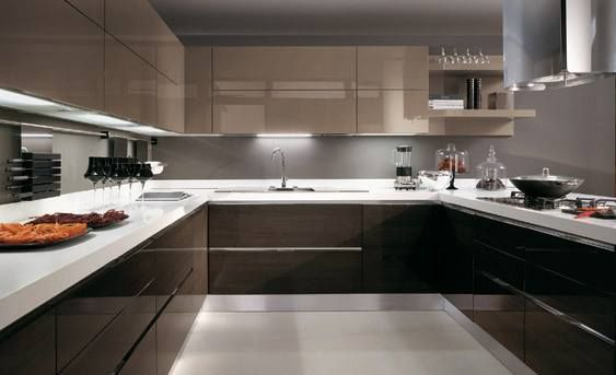 Pinneeta Shah On Kitchen  Pinterest  Kitchens Kitchen Alluring Modern Cabinet Design For Kitchen Inspiration