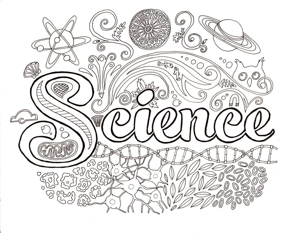 Science Coloring Pages - Best Coloring Pages For Kids  Science