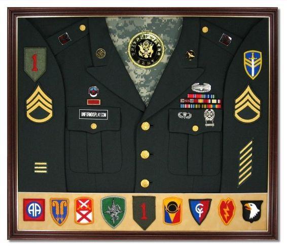 Samples Uniformdisplaycase Com Military Shadow Box Military