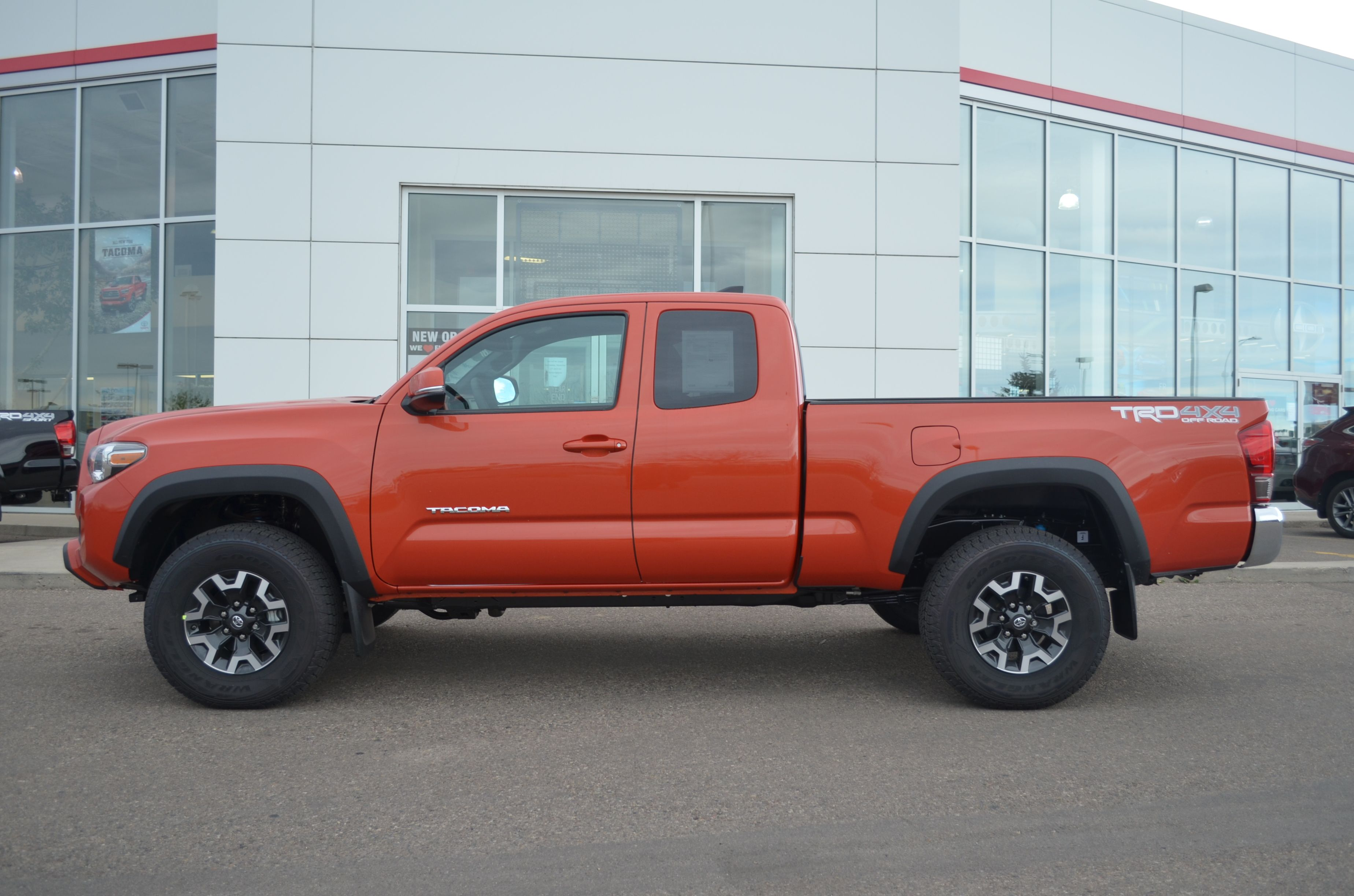 2016 toyota tacoma trd sport 4x4 in inferno 2016 toyota tacoma pinterest toyota tacoma. Black Bedroom Furniture Sets. Home Design Ideas