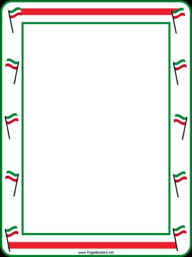 Italian Flag Border | www.pixshark.com - Images Galleries ...  Italian