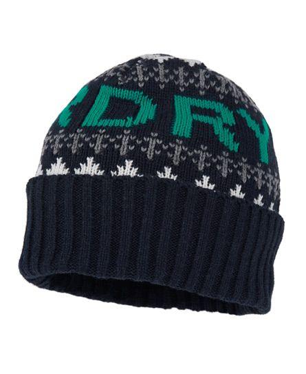 Superdry Fairisle Beanie - Men's Hats | Fashion | Pinterest ...