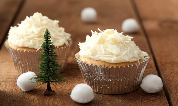 Winter-Muffins mit Schoko-Frosting