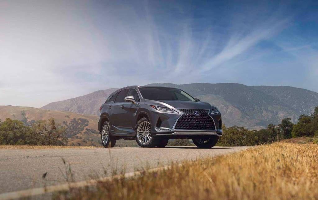gcc-bound 2020 lexus rx facelift revealed - amena auto