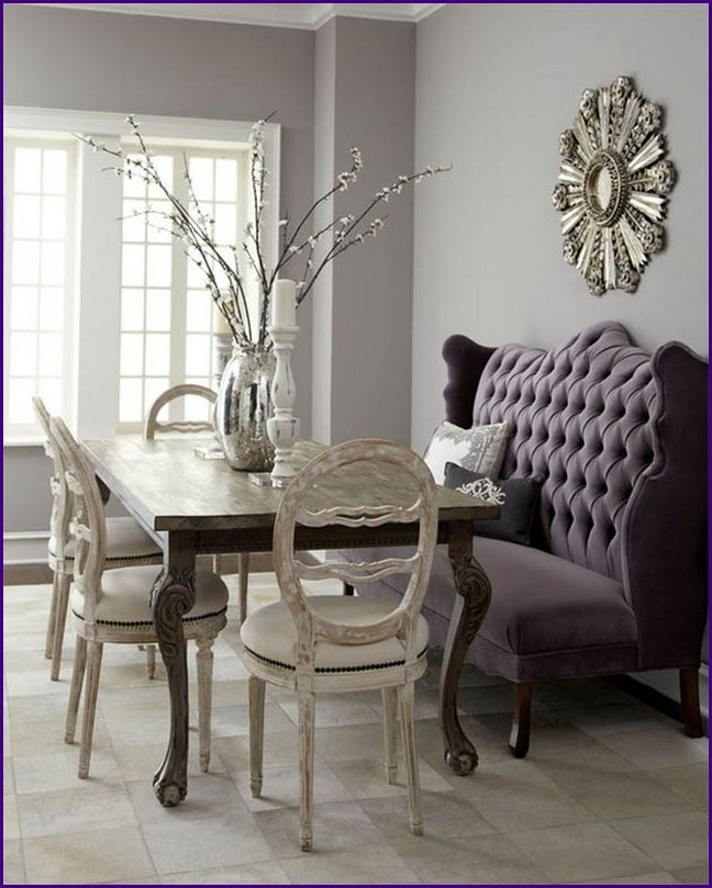 Love A Settee At The Dining Table I Think Using Would Be Great Way Of Creating Feeling Wonderland