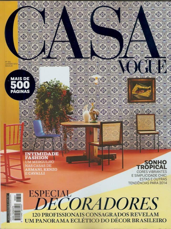 Revista Casa Vogue Especial Decoradores Muebles