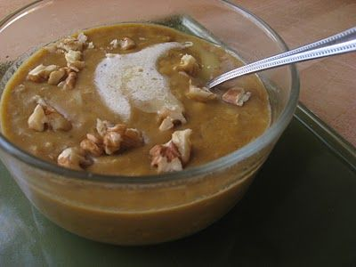 New Nostalgia: Cinnamon Maple Pumpkin Oatmeal 1/2 cup oats, 1/4 cup pumpkin. Cinnamon. Ginger.