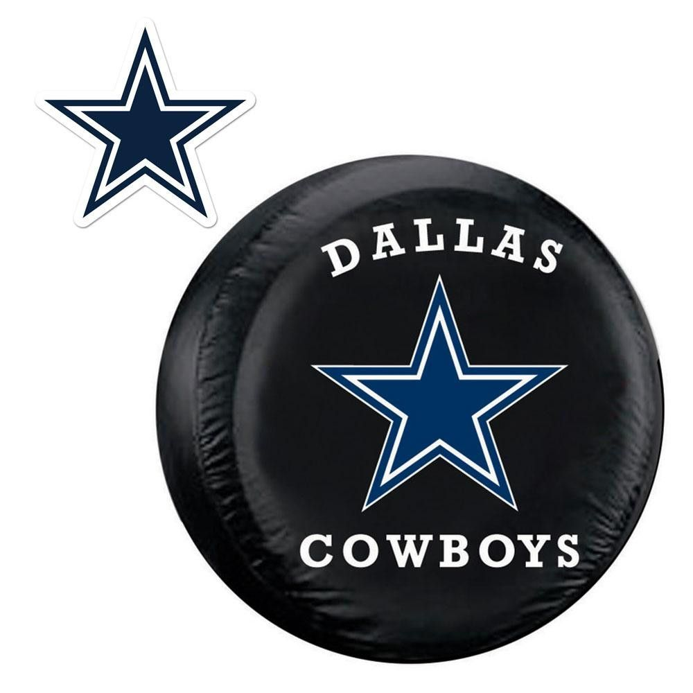 Dallas Cowboys Nfl Spare Tire Cover And Grille Logo Set Large