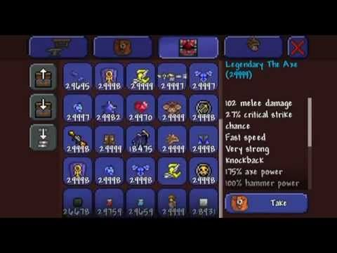 Terraria IOS 1 2 hacked world - YouTube | Terraria