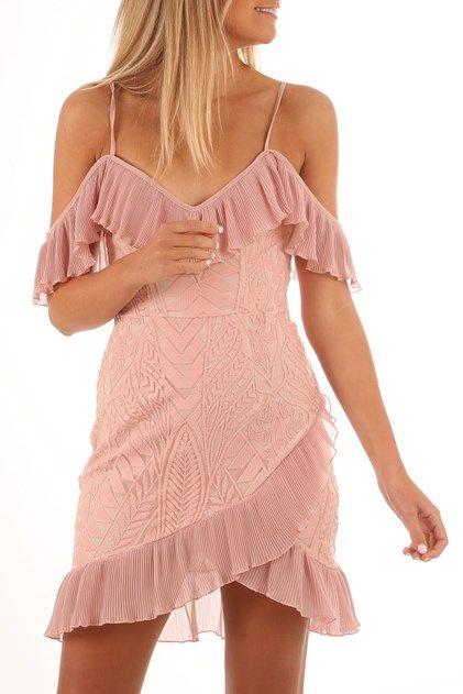 Just A Glimpse Dress Blush  7d938c5b0