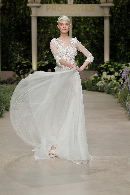 74850655db924 Pronovias 2019 Spring Bridal Collection: In Bloom #floralweddingdresses  #2019weddingdresstrends #2019weddingfashion #coutureweddingdresses