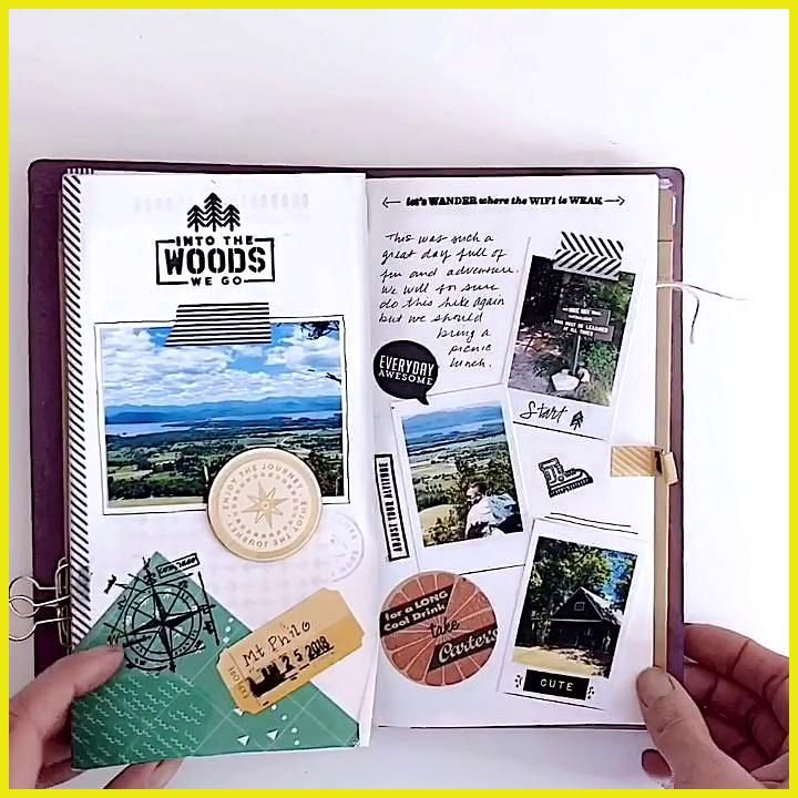 Travelers Notebook Flip Through This video is a flip through of a travelers journal The website offers many different journal style Bullet Journal notebooks washi stamps...