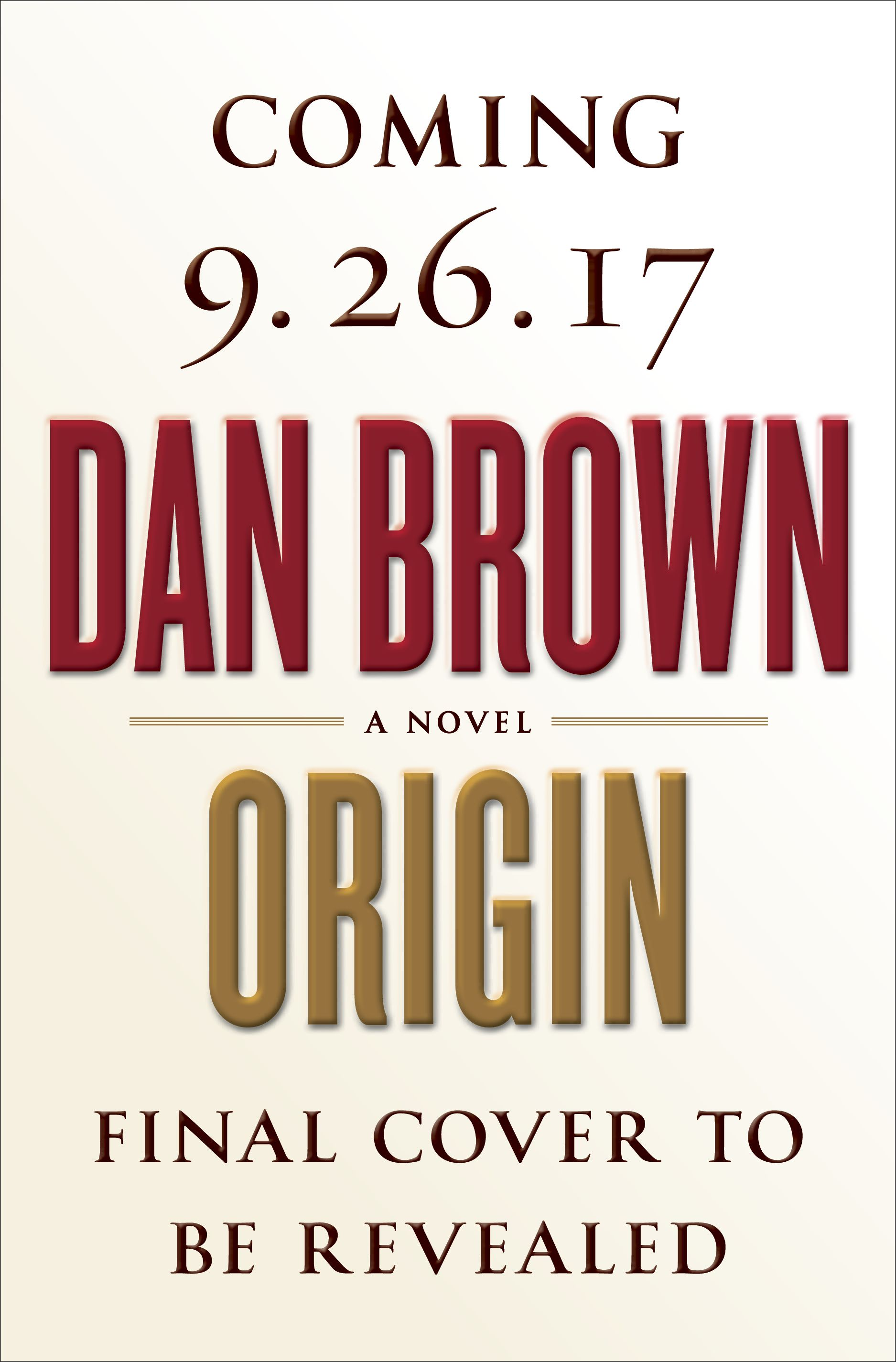 Origin by dan brown on sale october 3rd 2017 in keeping with books fandeluxe Document