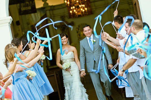 Inspiration Board French Blue Wedding Theme