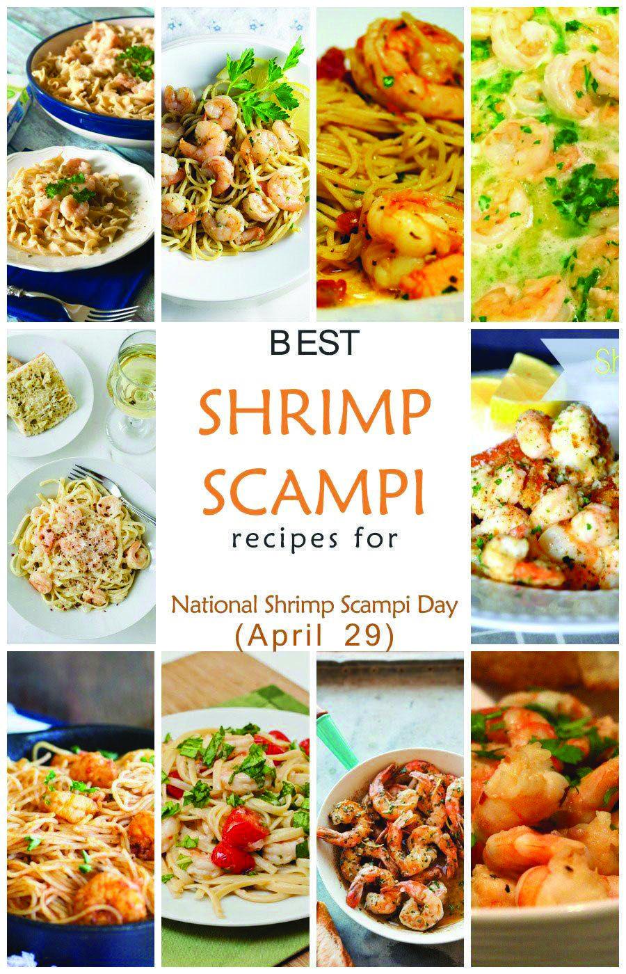SHRIMP SCAMPI RECIPE #shrimpscampi Best Anytime easy shrimp scampi recipe with italian dressing developed by nutritionists. #shrimpscampi