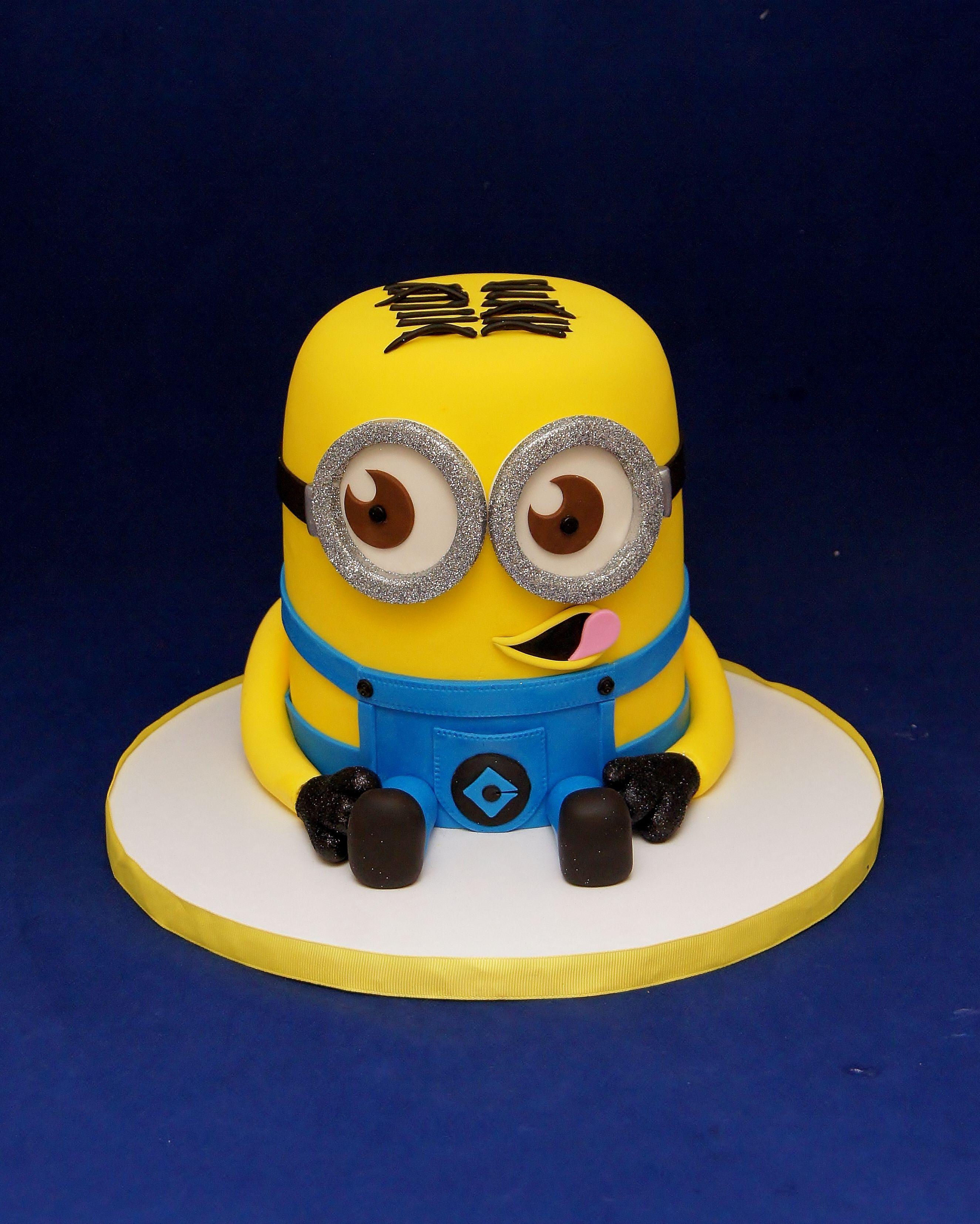 Minion Cake 3D Minion Dave Cake 3D Cakes Pinterest Minion
