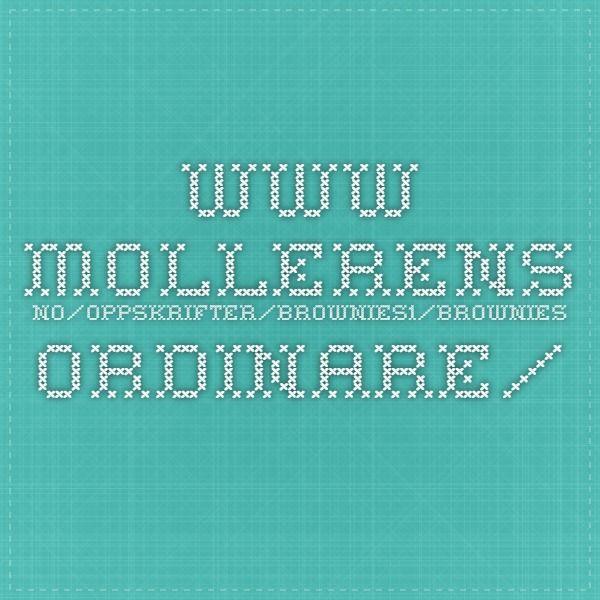 www.mollerens.no/oppskrifter/brownies1/brownies-ordinare/
