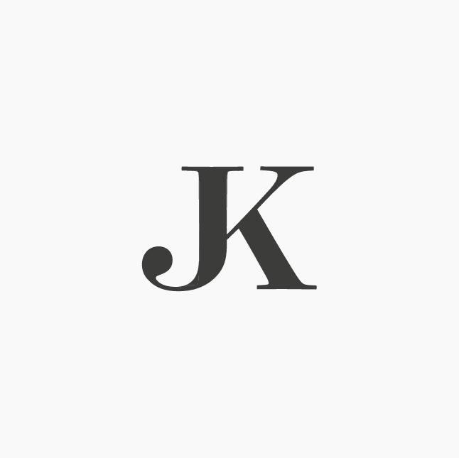 design by ottocliman it jk monogram logo design graphic letter rh pinterest com