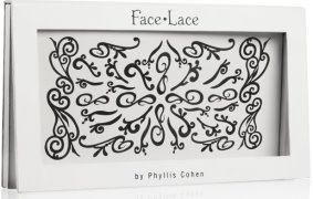Face-Lace branding for packaging by Angieandco