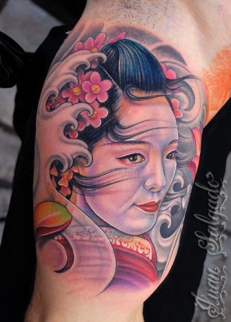 fotos de tatuajes de geishas