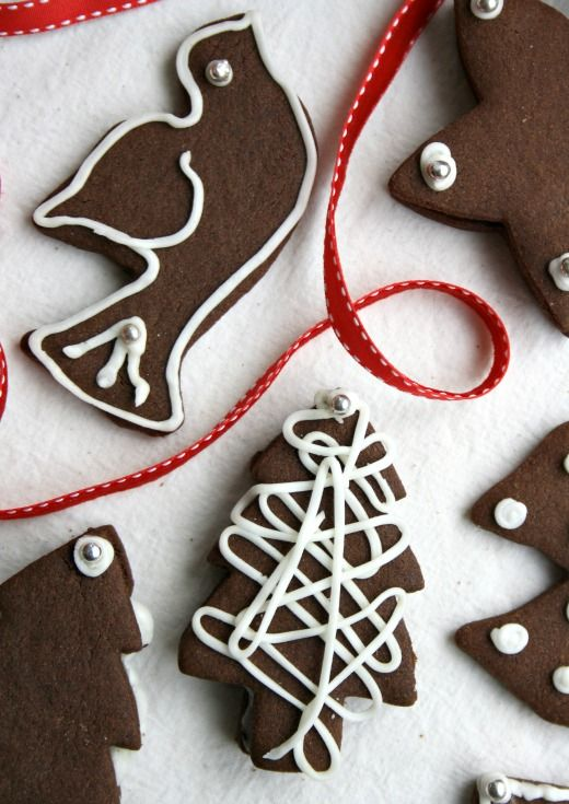 Chocolate Gingerbread Cut Out Cookies Crosby S Molasses Fall
