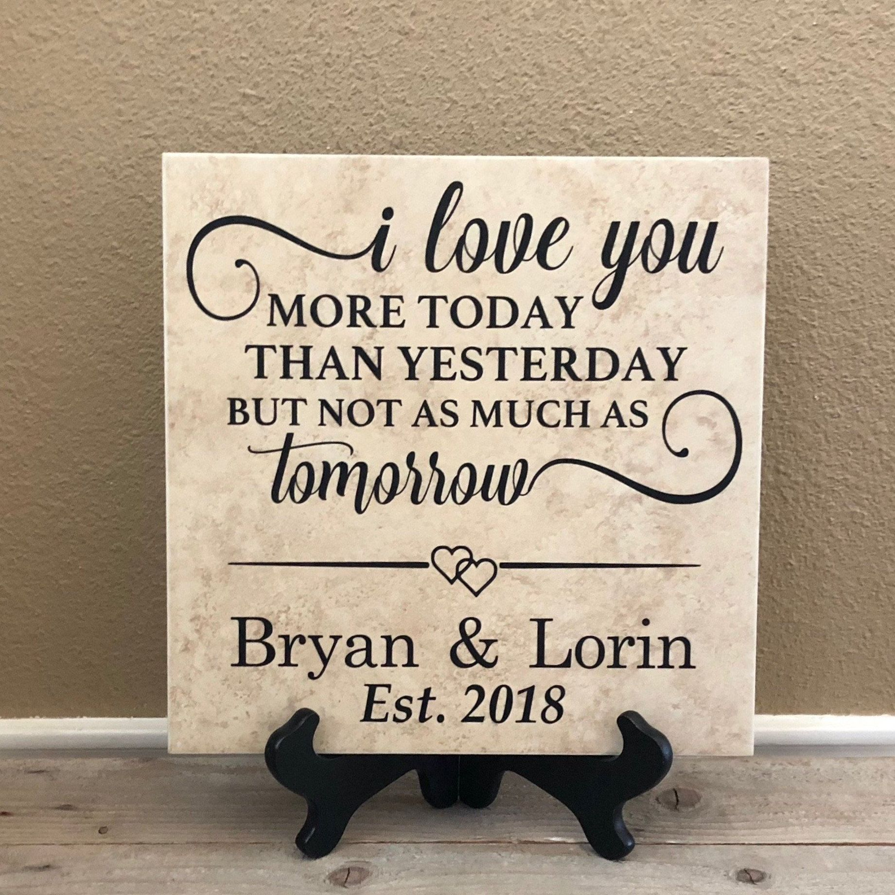 First Anniversary Gift, Gift for Girlfriend, Gift for