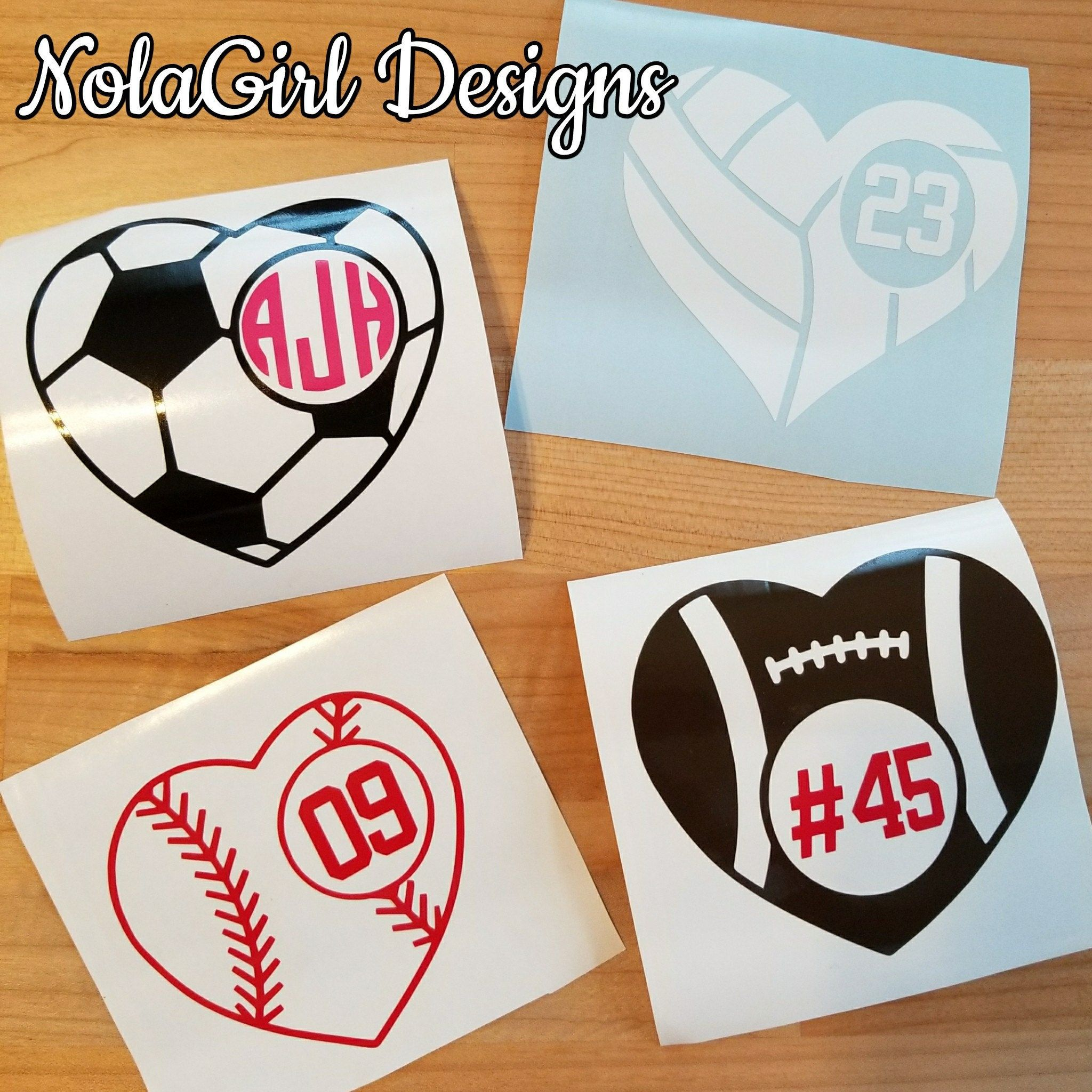 Nolagirldesign Shared A New Photo On Etsy In 2020 School Decal Fun Fundraisers Volleyball Fundraiser