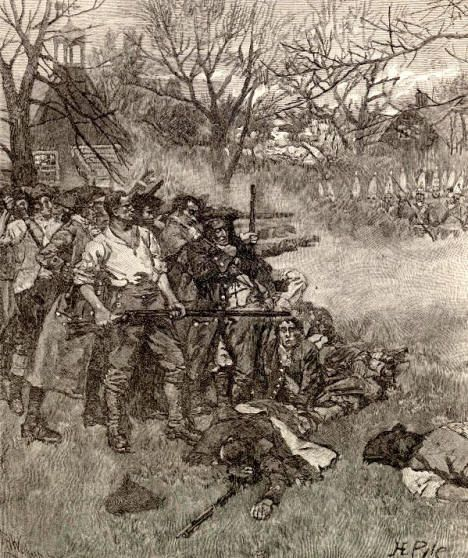 Battle Of Lexington Was A Battle In The Revolutionary War
