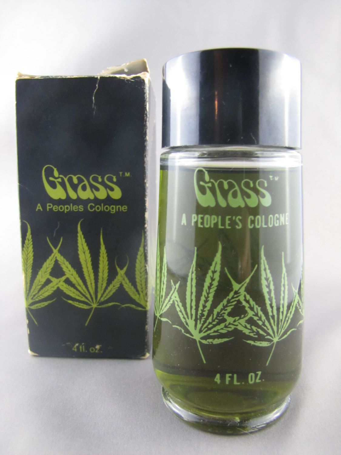 grass a peoples cologne vintage marijuana cologne ms m j pinterest kaufen. Black Bedroom Furniture Sets. Home Design Ideas