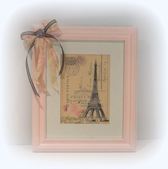 Paris Chic Wall Decor Shabby Chic Paris Decor Country French Framed Wall D