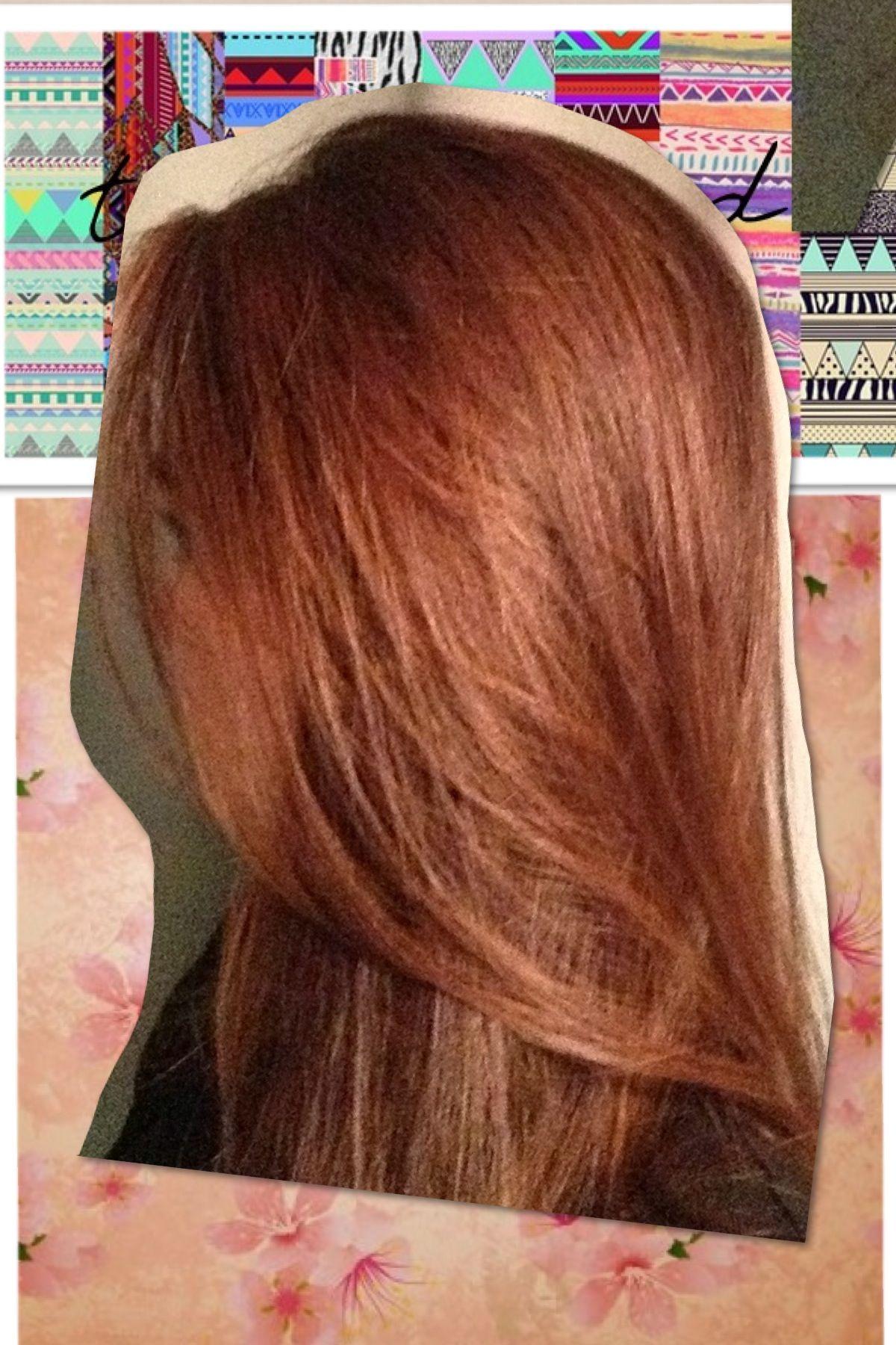 Brown hair/ let it shine :)